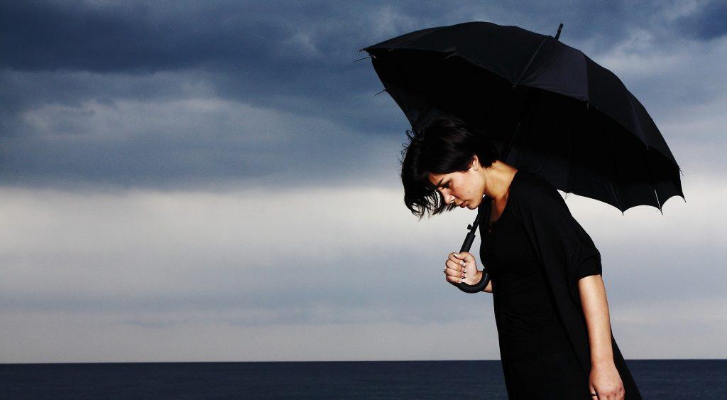 dia lluvioso y triste